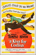Movie Posters:Comedy, A Kiss for Corliss (United Artists, 1949). One She...