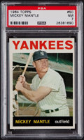 Baseball Cards:Singles (1960-1969), 1964 Topps Mickey Mantle #50 PSA NM 7....