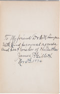 Books:Signed Editions, James B. Gillett. Six Years with the Texas Rangers 1875 to1881....