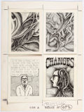 Original Comic Art:Complete Story, Jeff Jordan Changes Complete 8-Page Story in Printing Layout Form Group of 2 Original Art (San Francisco Comic Boo... (Total: 2 Items)