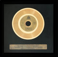 "Music Memorabilia:Awards, James & Bobby Purify ""I'm You're Puppet"" In-House Gold Sales Award (Bell 648, 1966)...."