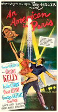 "Movie Posters:Musical, An American in Paris (MGM, 1951). Three Sheet (41"" X 80"").. ..."