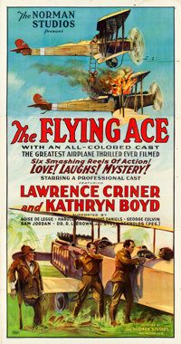 "The Flying Ace (Norman, 1926). Three Sheet (41"" X 78"")"