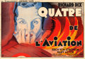 "Movie Posters:Drama, The Lost Squadron (RKO, 1933). French Double Grande (63"" X 91.5"")....."