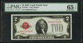 Fr. 1501* $2 1928 Legal Tender Note. PMG Gem Uncirculated 65 EPQ