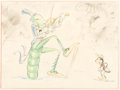 Animation Art:Concept Art, The Grasshopper and the Ants Concept Art (Walt Disney,1934)....