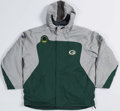 "Football Collectibles:Uniforms, Circa 2015 Green Bay Packers Game Issued ""Reebok Pump"" Coat...."