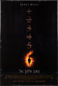 "Movie/TV Memorabilia:Posters, A Bruce Willis Owned Movie Poster of ""The Sixth Sense.""..."