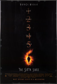 "A Bruce Willis Owned Movie Poster of ""The Sixth Sense."""
