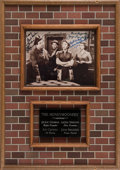 "Movie/TV Memorabilia:Autographs and Signed Items, A Bruce Willis Owned Signed Photo from ""The Honeymooners.""..."