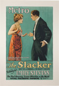 """Movie/TV Memorabilia:Posters, A Bruce Willis Owned Movie Poster from """"The Slacker.""""..."""