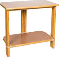 Furniture , A Paul Frankl for Ritts Tropitan Bamboo Side Table. 24-1/2 x 21 x 12 inches (62.2 x 53.3 x 30.5 cm). ...