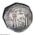 Colombia: , Colombia: Felipe IV cob 2 Reales 1662 Nuevo Reino, CT 772 (platecoin), choice toned AU-UNC, a magnificent coin and unquestionablythe...