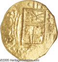 Colombia: , Colombia: Felipe IV gold 2 Escudos ND (1621-65), KM4, MS60 NGC,Maravillas Treasure. The obverse displays a mushy strike, but the Nof...
