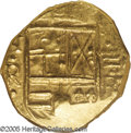 Colombia: , Colombia: Felipe IV gold 2 Escudos ND (1621-65), KM4, MS61 NGCMaravillas Treasure. A desirable example with clear NR to the leftof t...