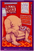 Memorabilia:Poster, Ten Years After/Spirit/Country Weather Fillmore West Concert PosterFirst Printing (Bill Graham, 1969) Condition: VF/NM....
