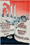 Memorabilia:Poster, Ten Years After/Canned Heat/Albert King Fillmore West First ConcertPrinting Poster (Bill Graham, 1968) Condition: VF/NM....