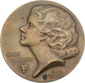 Movie/TV Memorabilia:Awards, A Jean Harlow Commemorative Medallion, 1932....