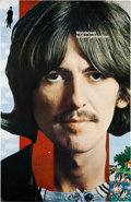 Music Memorabilia:Posters, Beatles - George Harrison Wonderwall Music Promo Poster(Apple, 1968). ...