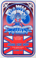 Music Memorabilia:Posters, The Who Fillmore East Concert Poster (Bill Graham,1969). Rare....
