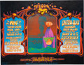 Music Memorabilia:Posters, Grateful Dead/The Who Fillmore West Concert Poster BG-133 (BillGraham, 1968). Rare....