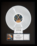 Music Memorabilia:Awards, Electric Light Orchestra Out of the Blue RIAA Platinum AlbumSales Award (United Artists JTLA-823-L2, 1977)....