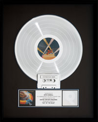Electric Light Orchestra Out of the Blue RIAA Platinum Album Sales Award (United Artists JTL