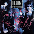 Music Memorabilia:Autographs and Signed Items, The Alarm Signed Eye Of The Hurricane Album (1987)....