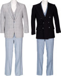 "Movie/TV Memorabilia:Costumes, A Richard Dawson Pair of Suits Worn on ""Family Feud.""... (Total: 6)"