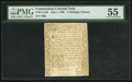 Colonial Notes:Connecticut, Connecticut July 1, 1780 2s 6d PMG About Uncirculated 55.. ...