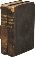 Books:Americana & American History, George Wilkins Kendall: Narrative of the Texan Santa FéExpedition, Comprising a Description of A Tour Throu...(Total: 2 Items)