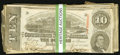 Confederate Notes:1863 Issues, T59 $10 1863 Thirty-eight Examples.. ... (Total: 38 notes)