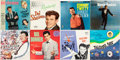 Music Memorabilia:Recordings, Rock Solo Greats - Group of Eight LPs (Various, 1950s/60s)....(Total: 8 )