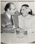 Music Memorabilia:Autographs and Signed Items, Billie Holiday Signed Photograph (circa early 1950s). Rare....