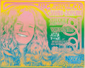Music Memorabilia:Posters, Big Brother & the Holding Company with Janis Joplin Hemisfair Theatre Concert Handbill (Vulcan Gas Company, 1968)....