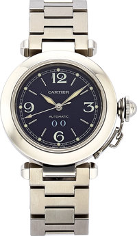 Cartier Lady's Stainless Steel Automatic Pasha de Cartier Watch