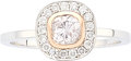 Estate Jewelry:Rings, Very Light Pink Diamond, Diamond, Platinum, Pink Gold Ring, DavidJames Thomas. ...