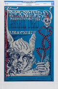 Music Memorabilia:Posters, Grateful Dead/Quicksilver Messenger Service Fillmore West ConcertPoster BG-144 Signed By Lee Conklin CGC 9.8 (Bill Graham, 19...