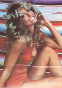 A Farrah Fawcett Personally-Owned Group of THE Posters, Circa 1970s