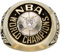 Basketball Collectibles:Others, 1976 Boston Celtics NBA Championship Ring Presented to TeamPhysician....