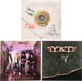 Music Memorabilia:Autographs and Signed Items, Cinderella/Whitesnake/Y&T Signed LP Group (Various Labels,1986/87).... (Total: 3 Items)