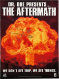 Music Memorabilia:Autographs and Signed Items, Dr. Dre Signed The Aftermath Poster (1996)....