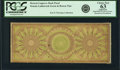 Miscellaneous:Other, Bowen-Congreve Patent Back Color Tint Essay. Congreve Patent CheckPlate in Green and Brown Undated (Ca. 1833). Proof. PCGS C...