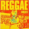 Music Memorabilia:Autographs and Signed Items, Burning Spear Signed Reggae Greats LP Cover (Mango,1984)....