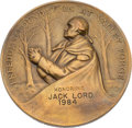 Movie/TV Memorabilia:Awards, A Jack Lord Medal, 1984....