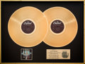 Music Memorabilia:Awards, MAZE Featuring Frankie Beverly Live in New Orleans RIAA GoldRecord Sales Award (Capitol SKBK-12156, 1981)....
