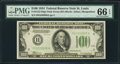 Small Size:Federal Reserve Notes, Fr. 2152-H $100 1934 Federal Reserve Note. PMG Gem Uncirculated 66 EPQ.. ...
