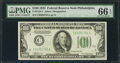 Small Size:Federal Reserve Notes, Fr. 2152-C $100 1934 Federal Reserve Note. PMG Gem Uncirculated 66 EPQ.. ...