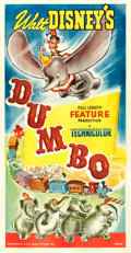 "Movie Posters:Animation, Dumbo (RKO, 1941). Three Sheet (41"" X 79.75"") Style B.. ..."