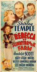 "Movie Posters:Musical, Rebecca of Sunnybrook Farm (20th Century Fox, 1938). Three Sheet (41"" X 81""). Musical.. ..."